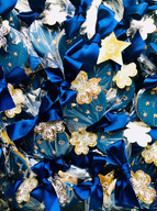 Dior - inky blue skies and celestial stars