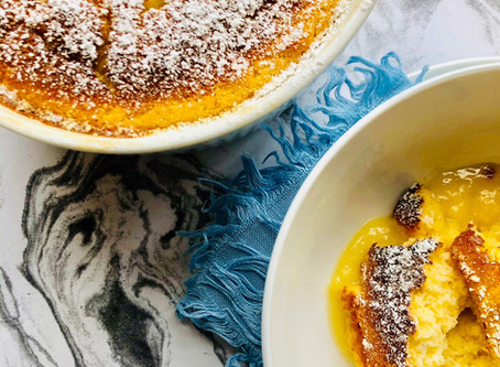 The ultimate self isolation comfort food - Granny Annie's Lemon Pudding