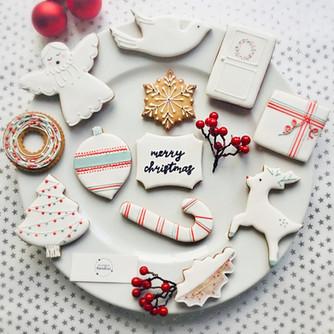 A festive dozen ...