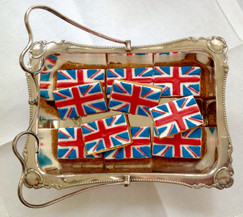 Union Jack iced biscuits