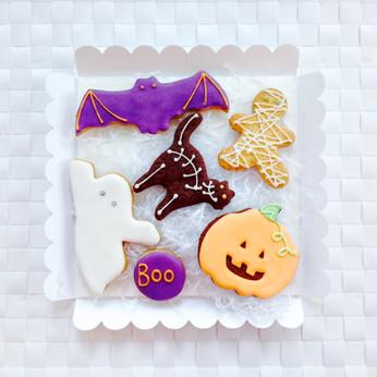 Fun Halloween biscuits