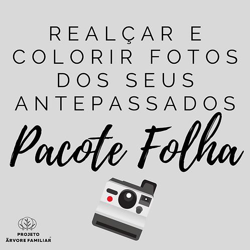 PACOTE FOLHA