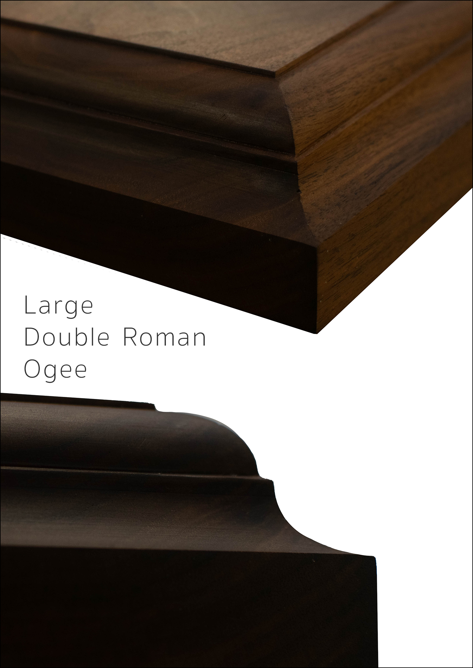 Large Double Roman Ogee