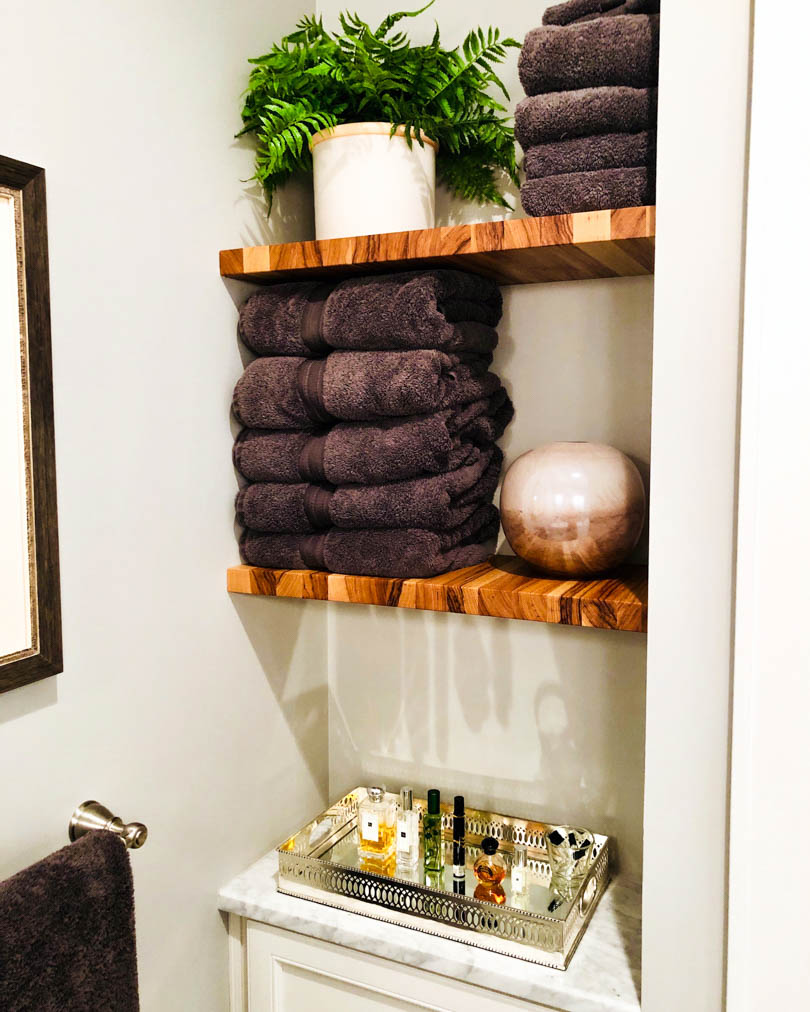 Hickory Shelves