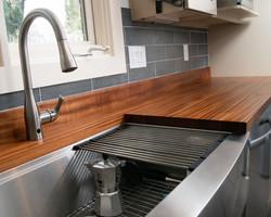 Sapele Kitchen Countertop