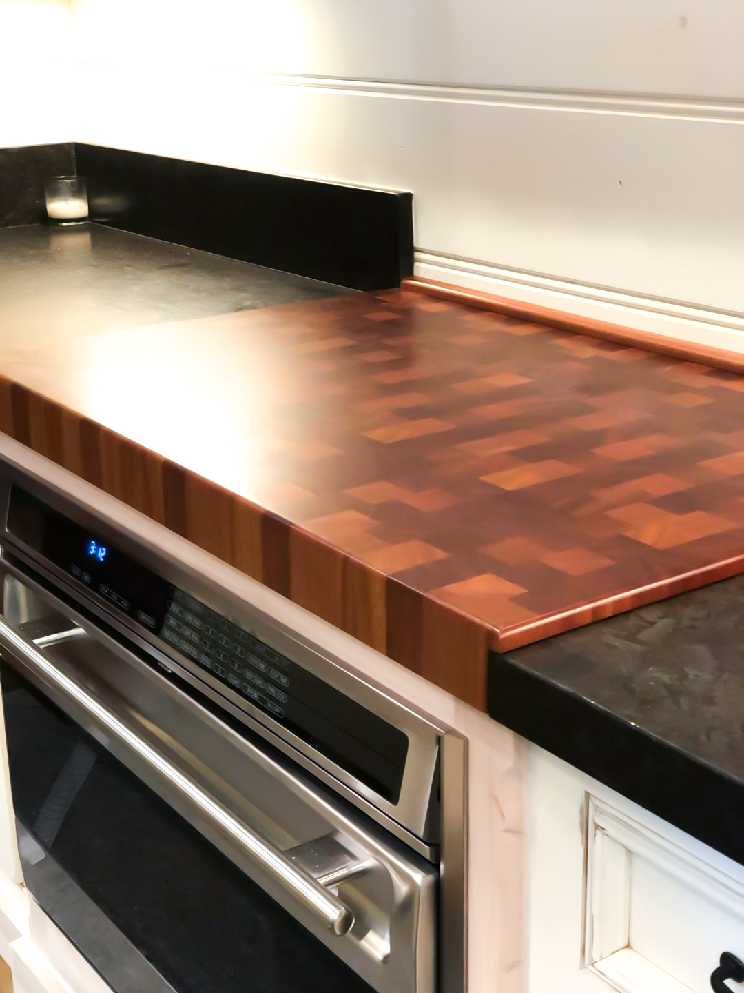 Sapele End Grain Butcher's Block