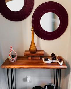 Zebra Table