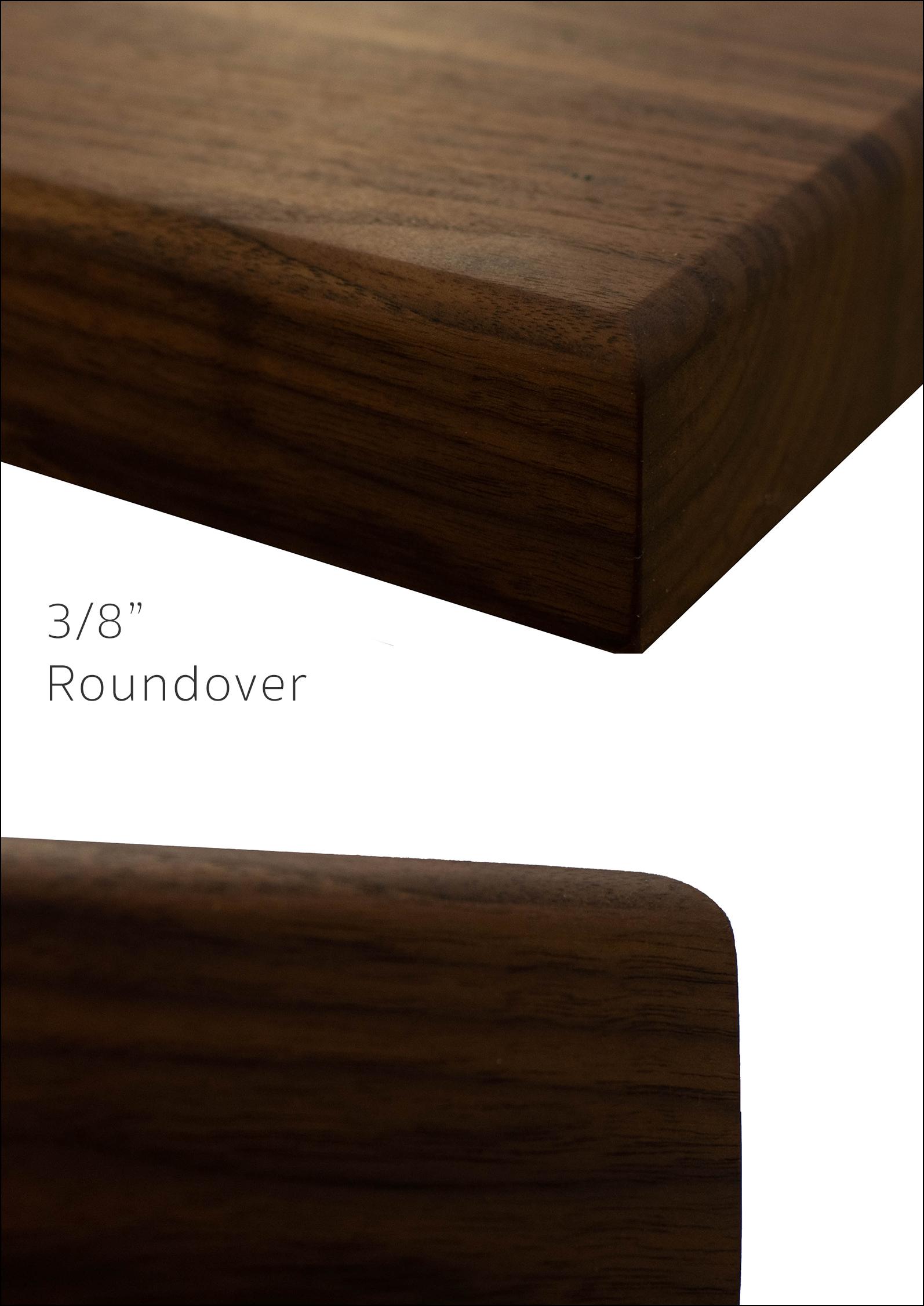 """3/8"""" Roundover"""