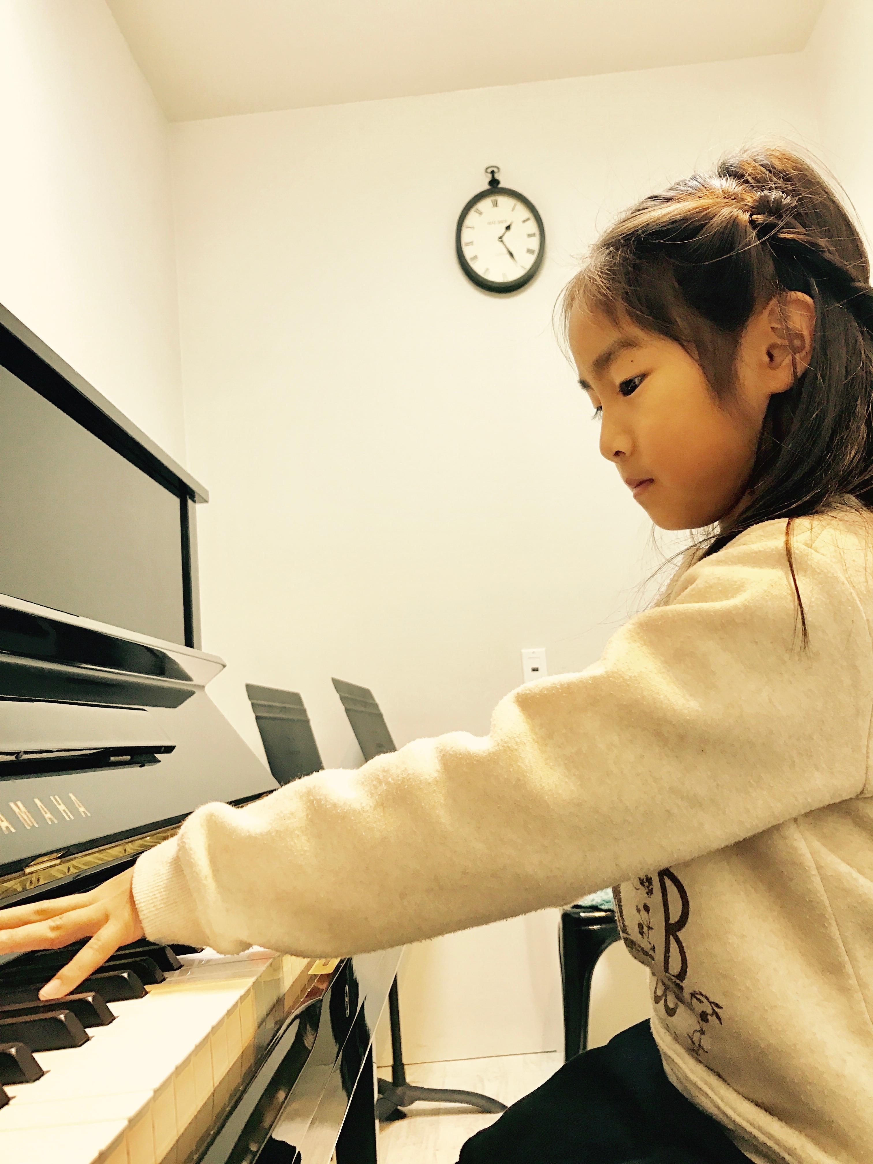 ピアノ個人練習