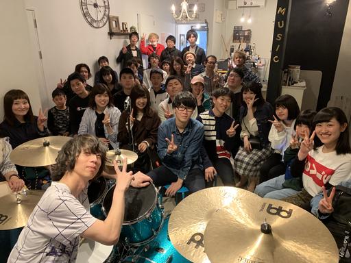 大喜多崇規氏のドラムセミナーvol2