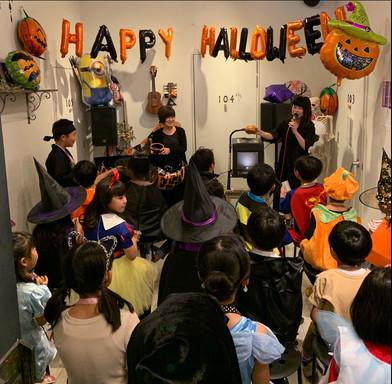 2019年Halloween party