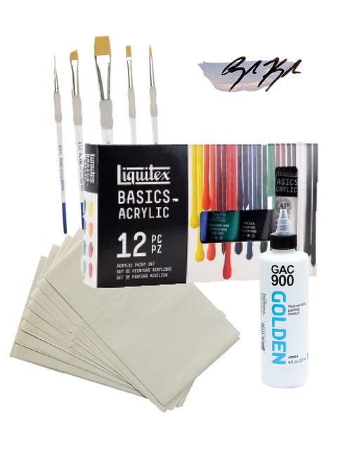 Clothing Paint Kit (Basic)