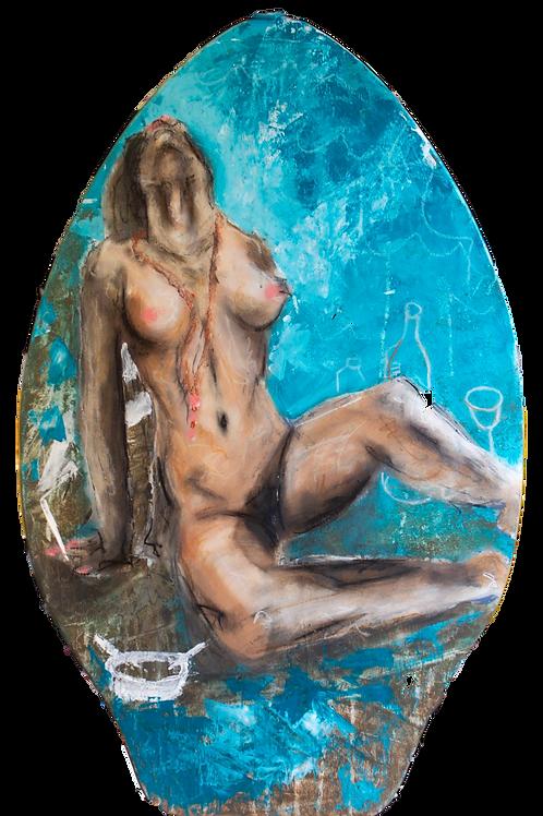Painted Skim Board
