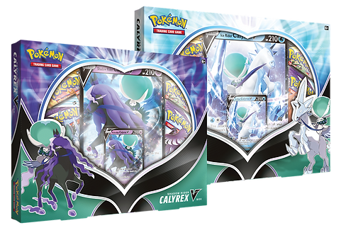 Pokémon Ice Rider / Shadow Rider Calyrex V Box