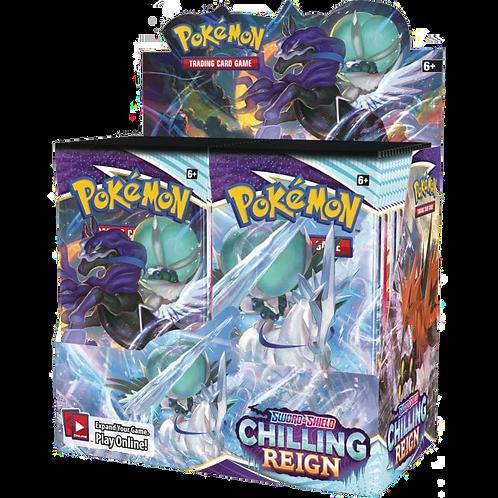 Pokémon Sword & Shield 6 : Chilling Reign Booster Box