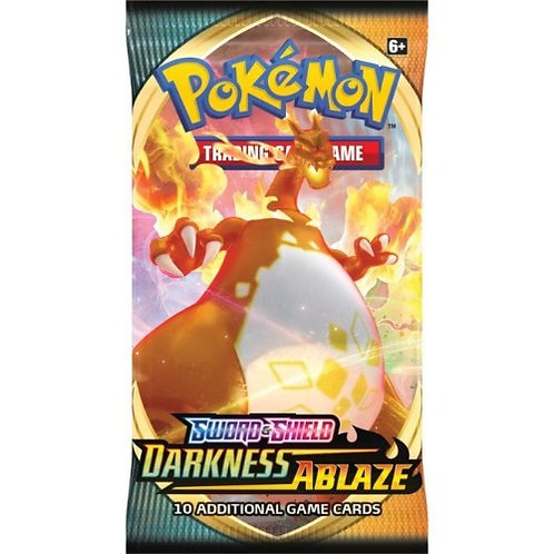 Pokemon Sword & Shield 3: Darkness Ablaze Booster Pack