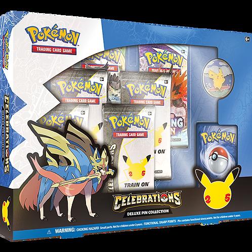 Pokémon 25th Anniversary : Celebrations Deluxe Pin Box