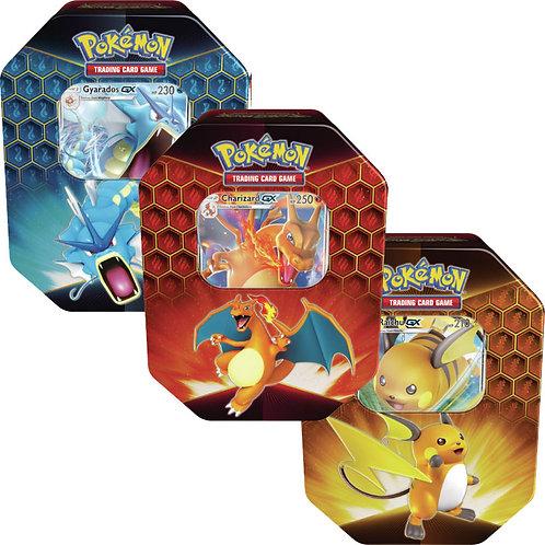 Pokémon Hidden Fates Collection Tins: Artset