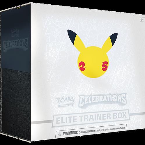Pokémon 25th Anniversary : Celebrations Elite Trainer Box