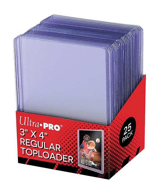 Ultra Pro Regular Top Loaders *6 PP Limit*