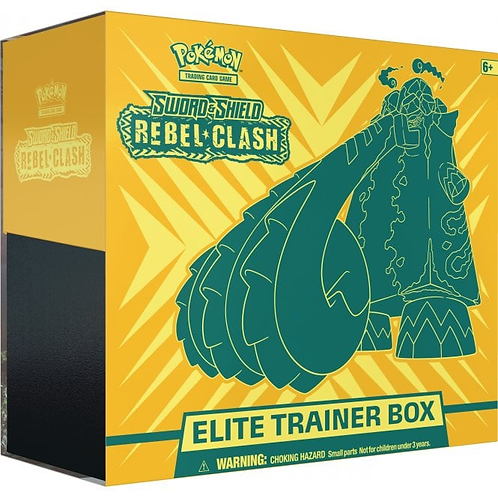 Pokémon Sword & Shield 2 : Rebel Clash Elite Trainer Box