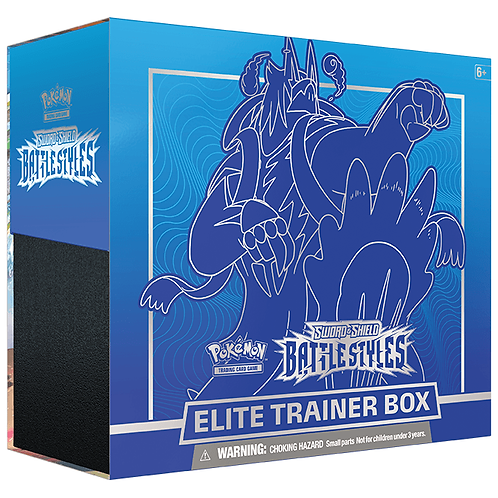 Pokémon Sword & Shield 5 : Battle Styles Elite Trainer Box