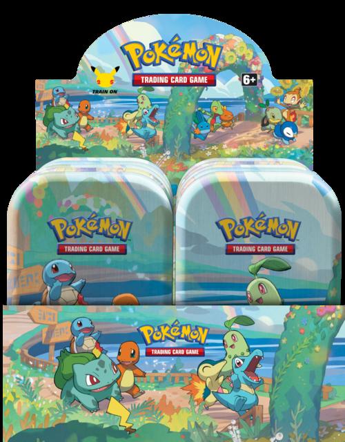 Pokémon 25th Anniversary : Celebrations Mini Tins