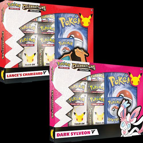 Pokémon : Celebrations Lance's Charizard V / Dark Sylveon V Box
