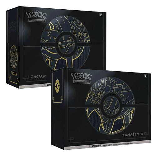 Pokémon Zacian and Zamazenta Elite Trainer Box Plus