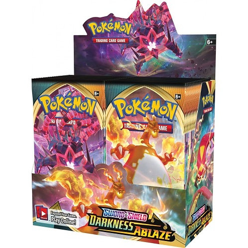 Pokemon Sword & Shield 3: Darkness Ablaze Booster Box