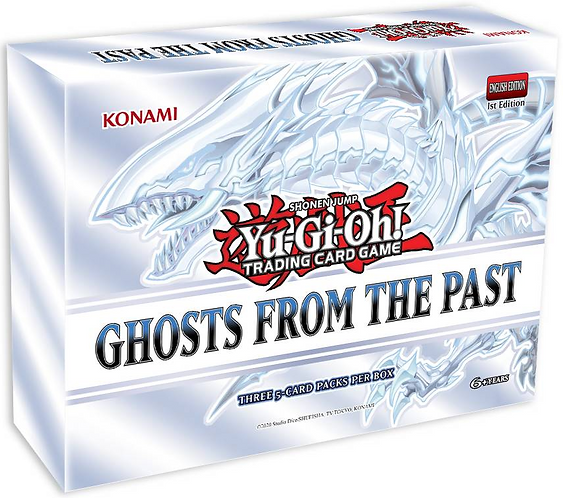Yu-Gi-Oh! - Ghosts From The Past Box