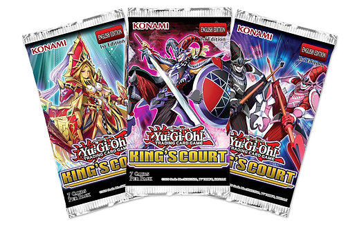 Yu-Gi-Oh! - King's Court - Booster Pack