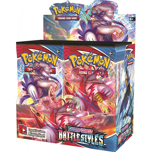 Pokémon Sword & Shield 5 : Battle Styles Booster Box
