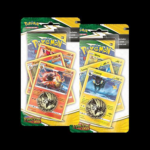Pokémon Sword & Shield 7 : Evolving Skies Checklane Blister