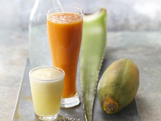 Tropical Immunity Boost: Day-Glow Antioxidant Fusion