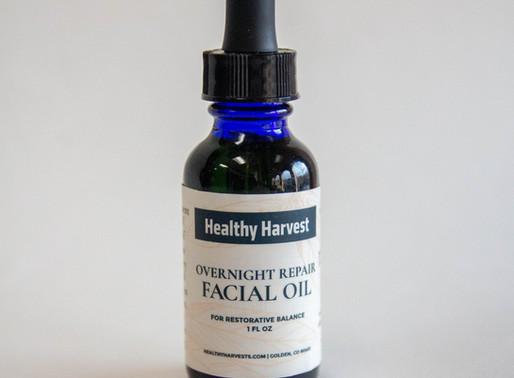 Overnight Repair Facial Oil and Anti-Aging Facial Oil
