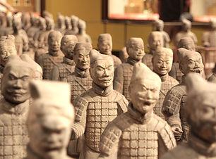 Estatuas guerreros chinos