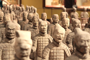 Statues Guerrier chinois