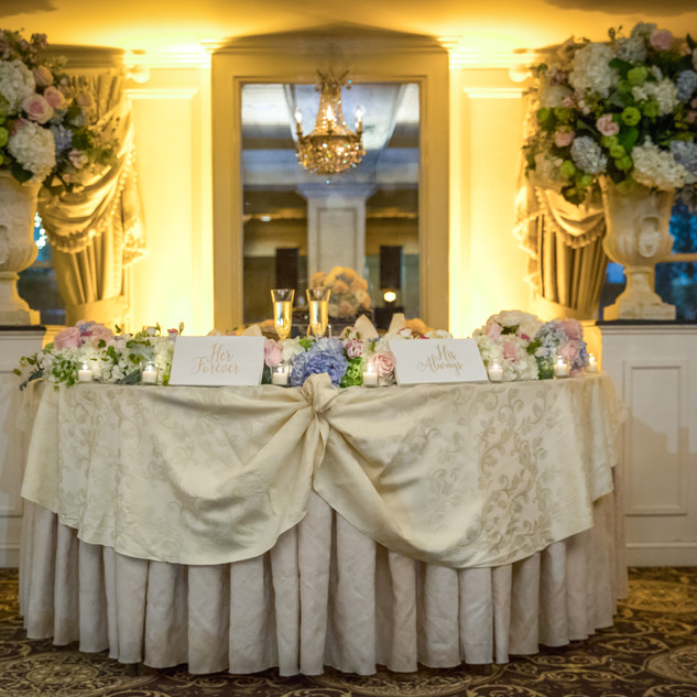 Olde Mill Inn Elegant Light Blue Wedding