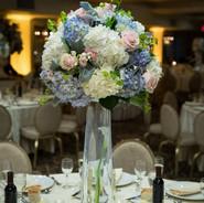 Olde Mill Inn Elegent Light Blue Wedding