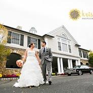 Olde Mill Inn Orange and White Wedding