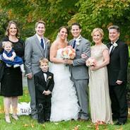 Family Photos | Bride and Groom | Bride Bouquet | Boutonierres