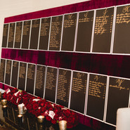 Caligraphy Guest Card Table
