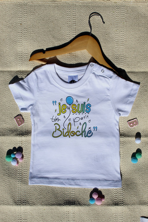 T-shirt garçon Je suis un petit Bidoche  | Planète Bidoche