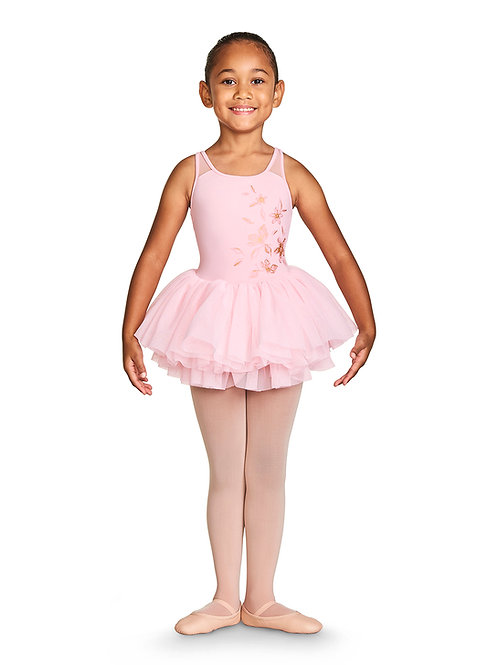 Girls Althea Mesh Back Camisole Tutu Leotard CL4901
