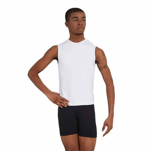 Capezio Mens Straight Waist Fitted Shorts 10360M