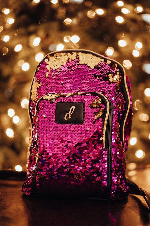 Danshuz Opalescent Sequin Backpack B838