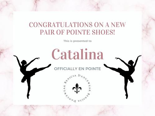 Catalina Canfield - Remaining Balance