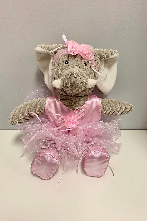 """Ballerina Elephant 12"""" Kordy"""