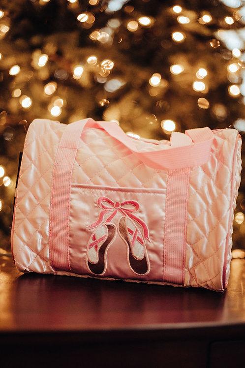 Danshuz Quilted Pink Dance Bag B951